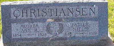 CHRISTIANSEN, ANE.M. - Black Hawk County, Iowa | ANE.M. CHRISTIANSEN
