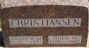 CHRISTIANSEN, DORA M. - Black Hawk County, Iowa   DORA M. CHRISTIANSEN