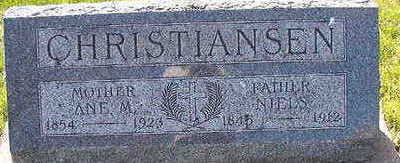 CHRISTIANSEN, NIELS - Black Hawk County, Iowa | NIELS CHRISTIANSEN