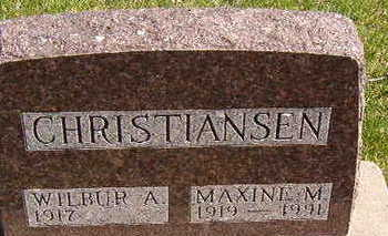 CHRISTIANSEN, WILBUR A. - Black Hawk County, Iowa | WILBUR A. CHRISTIANSEN