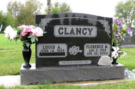 CLANCY, FLORENCE M. - Black Hawk County, Iowa   FLORENCE M. CLANCY