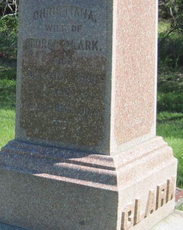 CLARK, CHRISTIANA - Black Hawk County, Iowa | CHRISTIANA CLARK