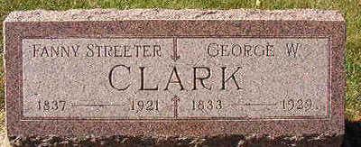 CLARK, GEORGE W. - Black Hawk County, Iowa | GEORGE W. CLARK