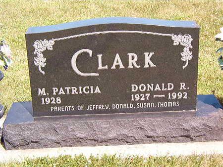 CLARK, M. PATRICIA - Black Hawk County, Iowa   M. PATRICIA CLARK