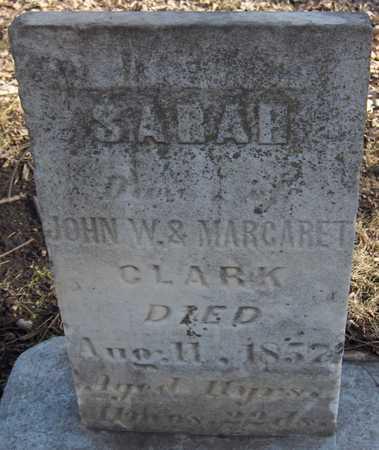 CLARK, SARAH - Black Hawk County, Iowa | SARAH CLARK