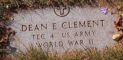 CLEMENT, DEAN E. - Black Hawk County, Iowa | DEAN E. CLEMENT