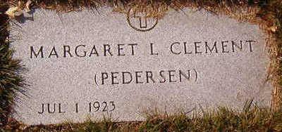 CLEMENT, MARGARET L. - Black Hawk County, Iowa | MARGARET L. CLEMENT