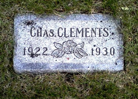 CLEMENTS, CHAS. - Black Hawk County, Iowa | CHAS. CLEMENTS