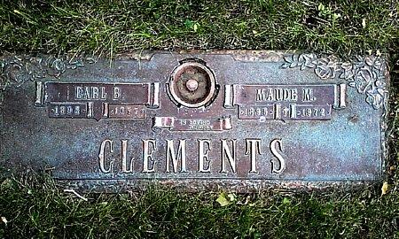 CLEMENTS, MAUDE M - Black Hawk County, Iowa | MAUDE M CLEMENTS