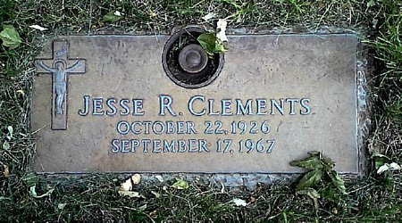 CLEMENTS, JESSE R. - Black Hawk County, Iowa | JESSE R. CLEMENTS