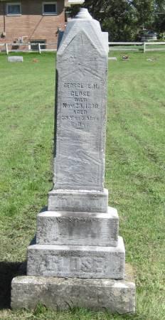 CLOSE, GEORGE E. H. - Black Hawk County, Iowa | GEORGE E. H. CLOSE