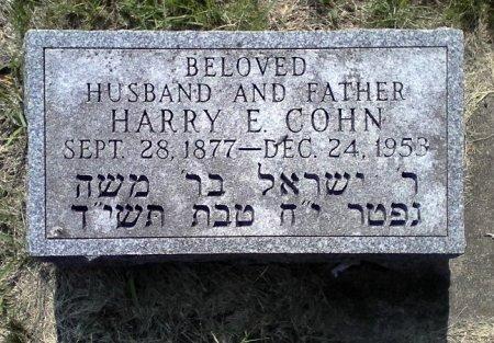 COHN, HARRY E. - Black Hawk County, Iowa | HARRY E. COHN