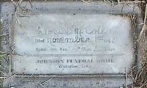 COLL, DORIS M. - Black Hawk County, Iowa   DORIS M. COLL
