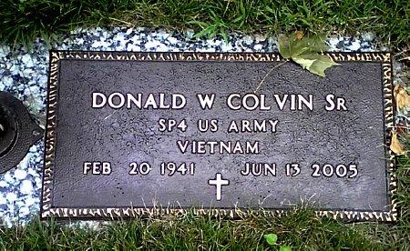 COLVIN, DONALD W. SR. - Black Hawk County, Iowa | DONALD W. SR. COLVIN
