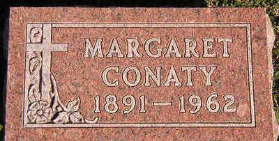 CONATY, MARGARET - Black Hawk County, Iowa | MARGARET CONATY