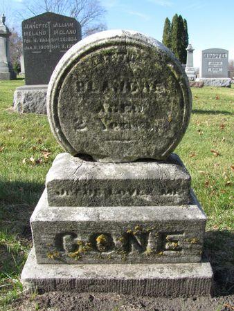 CONE, BLANCHE - Black Hawk County, Iowa | BLANCHE CONE