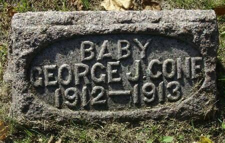 CONE, GEORGE J. - Black Hawk County, Iowa | GEORGE J. CONE