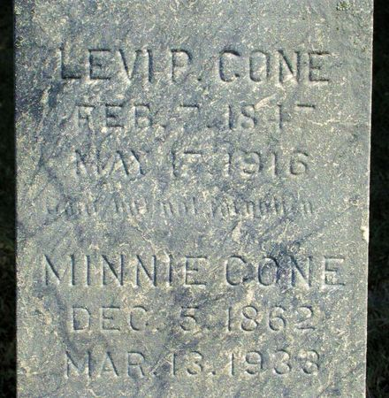 CONE, LEVI P. - Black Hawk County, Iowa | LEVI P. CONE