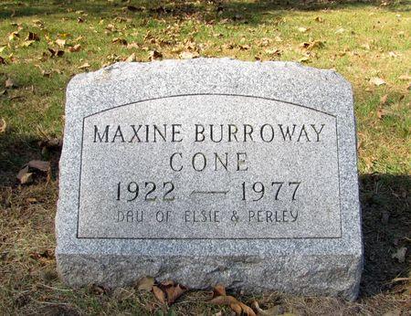 CONE, MAXINE - Black Hawk County, Iowa | MAXINE CONE