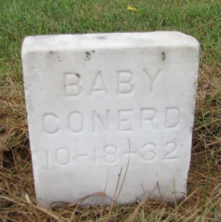 CONERD, BABY - Black Hawk County, Iowa | BABY CONERD