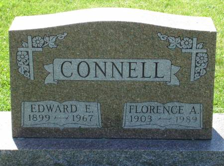 CONNELL, EDWARD E. - Black Hawk County, Iowa | EDWARD E. CONNELL