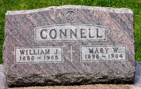 CONNELL, MARY W. - Black Hawk County, Iowa | MARY W. CONNELL