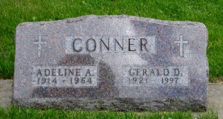 CONNER, ADELINE A. - Black Hawk County, Iowa | ADELINE A. CONNER