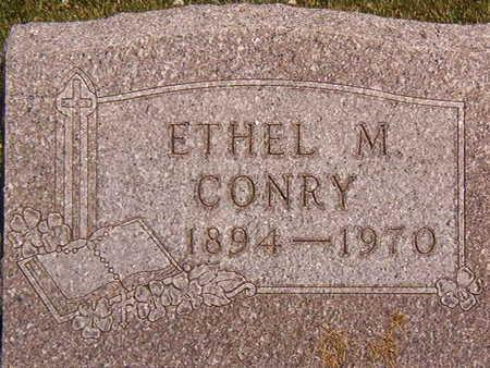CONRY, ETHEL M. - Black Hawk County, Iowa   ETHEL M. CONRY