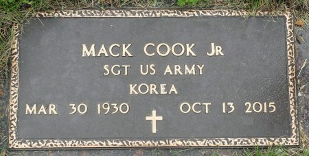 COOK, JR., MACK - Black Hawk County, Iowa | MACK COOK, JR.