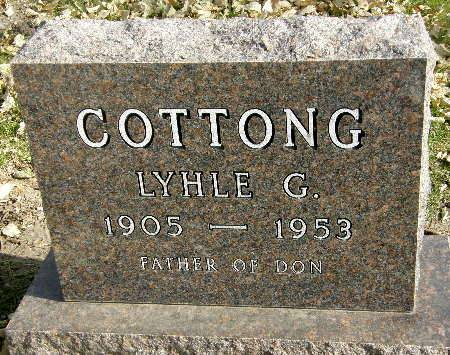 COTTONG, LYHLE C. - Black Hawk County, Iowa | LYHLE C. COTTONG