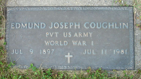 COUGHLIN, EDMUND JOSEPH - US ARMY - Black Hawk County, Iowa | EDMUND JOSEPH - US ARMY COUGHLIN