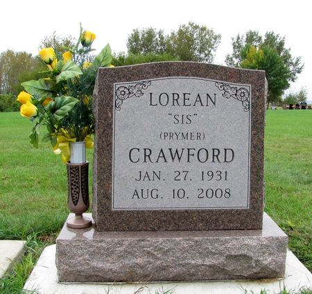 PRYMER CRAWFORD, LOREAN - Black Hawk County, Iowa   LOREAN PRYMER CRAWFORD