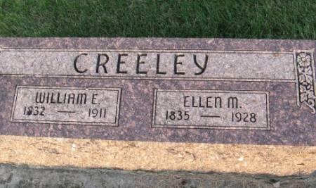 CREELEY, ELLEN M. - Black Hawk County, Iowa | ELLEN M. CREELEY