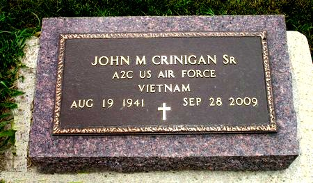 CRINIGAN, JOHN M., SR. - Black Hawk County, Iowa | JOHN M., SR. CRINIGAN