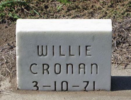 CRONAN, WILLIE - Black Hawk County, Iowa | WILLIE CRONAN