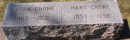 CRONE, HANS - Black Hawk County, Iowa | HANS CRONE