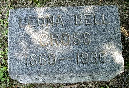 BELL CROSS, LEONA - Black Hawk County, Iowa | LEONA BELL CROSS