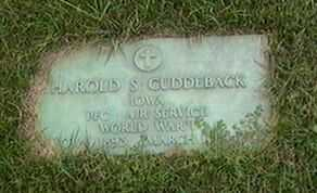 CUDDEBACK, HAROLD S. - Black Hawk County, Iowa | HAROLD S. CUDDEBACK