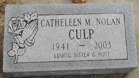 CULP, CATHELEEN M. - Black Hawk County, Iowa | CATHELEEN M. CULP