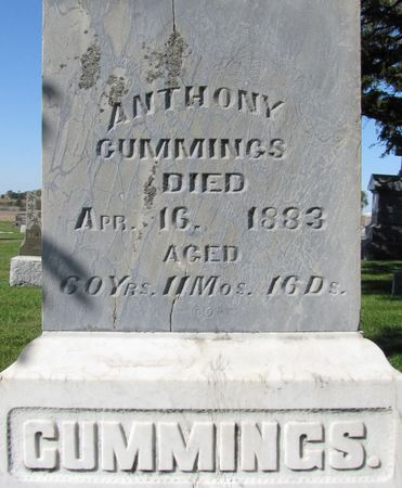 CUMMINGS, ANTHONY - Black Hawk County, Iowa | ANTHONY CUMMINGS