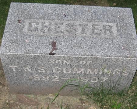 CUMMINGS, CHESTER - Black Hawk County, Iowa | CHESTER CUMMINGS