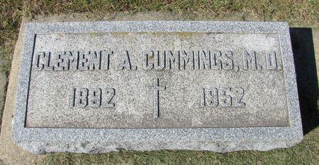 CUMMINGS, CLEMENT A. - Black Hawk County, Iowa | CLEMENT A. CUMMINGS