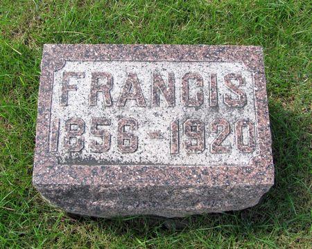 CUMMINGS, FRANCIS - Black Hawk County, Iowa | FRANCIS CUMMINGS