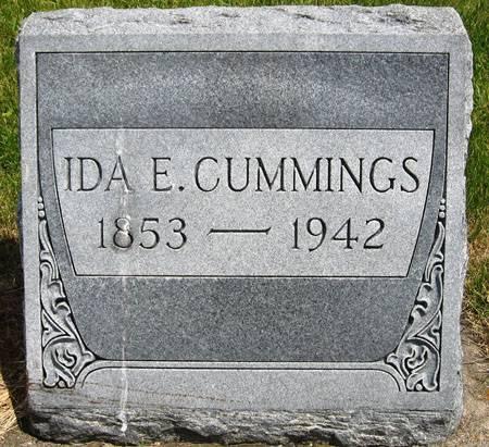 CUMMINGS, IDA E. - Black Hawk County, Iowa | IDA E. CUMMINGS