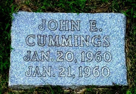 CUMMINGS, JOHN E. - Black Hawk County, Iowa | JOHN E. CUMMINGS