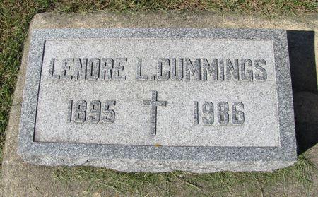 CUMMINGS, LENORE L. - Black Hawk County, Iowa | LENORE L. CUMMINGS