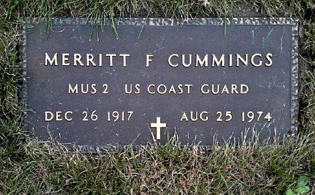 CUMMINGS, MERRITT F. - Black Hawk County, Iowa | MERRITT F. CUMMINGS