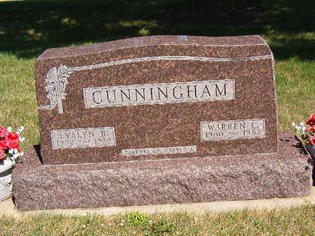 CUNNINGHAM, EVALYN B. - Black Hawk County, Iowa   EVALYN B. CUNNINGHAM
