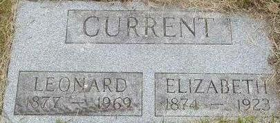 CURRENT, ELIZABETH - Black Hawk County, Iowa | ELIZABETH CURRENT