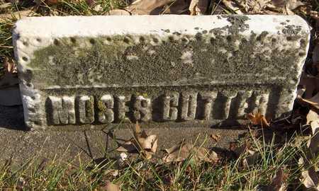 CUTTER, MOSES - Black Hawk County, Iowa | MOSES CUTTER